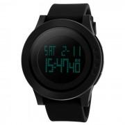SKMEI 1142 LED reloj de pulsera digital de deportes - negro (1 * CR2025)