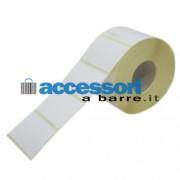 Etichette adesive in carta Vellum 60 x 40 mm per stampanti Desktop a trasferimento termico (ribbon necessario)