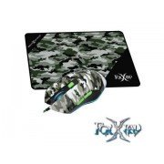 FoxxRay Battlefield Gaming mouse and mousepad