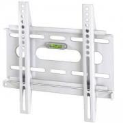 Стенна стойка за телевизор Ultraslim, Фиксирана, 37 инча, 25 кг, Бяла, HAMA-84466