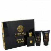 Versace Pour Homme Dylan Blue For Men By Versace Gift Set - 1.7 Oz Eau De Toilette Spray + 1.7 Oz Af