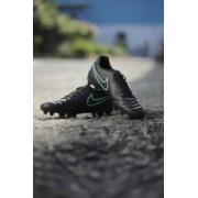 Nike TIEMPO RIO III FG Football Shoes(Black)