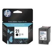 CARTUS HP BLACK HP 21 C9351AE 5ML ORIGINAL HP DESKJET 3940