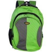 New Era School bags men 40 L Backpack(Green, Grey)