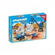 CONSTRUCTION SITE SUPERSET PLAYMOBIL 6144