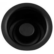 Westbrass InSinkErator Style Brida y tapón para eliminación de residuos (extraprofunda), Fits 3-1/2 in. sink opening, Negro mate