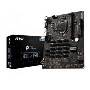 MB, MSI H310-F PRO /BTC /Intel H310/ DDR4/ 13 PCI-E/ LGA1151