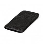 SENA UltraSlim Classic Pouch - кожен калъф (естествена кожа, ръчна изработка) за iPhone 8 Plus, iPhone 7 Plus, iPhone 6 Plus, iPhone 6S Plus (черен)
