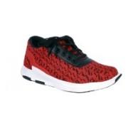 Shoebook Mens Rocking Sneakers For Men(Red)