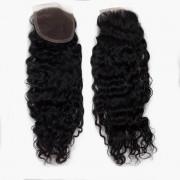 Rapunzel® Extensions Naturali Lace Closure Bouncy Curl 1.0 Black 40 cm