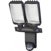 Brennenstuhl Lampa oprawa LED IP44 z czujnikiem PIR 2160LM aluminiowa lampa LED 54x0,5W klasa A