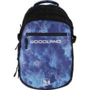 Woodland Blue Black Padded Shoulder Casual for College Use Office Shoulder and Travel bag With Adjustable straps 2 L Laptop Backpack(Black, Blue)