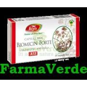BIOMICIN FORTE Antibiotic Natural 15 capsule Fares Orastie