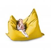 CrazyShop sedací vak KIDS, žlutá