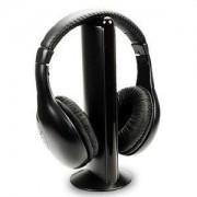 Wireless 5 in 1 vezeték nélküli fejhallgató mikrofonnal, Fm rádióval - MH2001