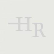 HudsonReed Meuble salle de bain chêne clair avec vasque à poser - 80cm - 2 tiroirs