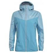 Salewa Agner PTX 3L - giacca hardshell con cappuccio - donna - Light Blue