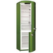 Combina frigorifica Gorenje Retro ORK192GR, Frost Less, A++, 326 l, Control electronic, H 194 cm, Verde