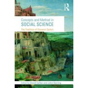 Concepts and Method in Social Science - The Tradition of Giovanni Sartori (Collier David)(Paperback) (9780415775786)