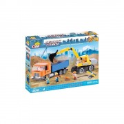 Action Town /1667/ Dump Truck And Excavator 400k