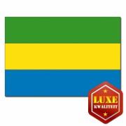 Luxe kwaliteit Gabonese vlaggen