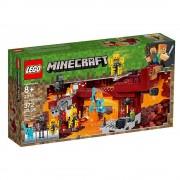 Lego set de construcción lego minecraft el puente del blaze 21154