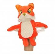 De Fabeltjeskrant Knuffel handpop Lowieke de Vos oranje/bruin 25 cm Fabeltjeskrant knuffels kopen