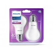 SET 2x Bec LED Philips E27/5W/230V 4000K