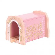 Bigjigs Baby Rail Pink Brick Tunnel
