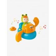 SMOBY/COTOONS Cotoons, Caranguejo musical, da SMOBY laranja vivo liso com motivo