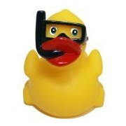 Rubber Ducks Family Snorkel Rubber Duck, Waddlers Brand Toy Bathtub Rubber Ducks That Float Upright,