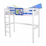 Visoki dečiji krevet Luis Beli Space