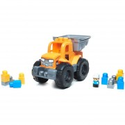 Camion De Volteo Transformable Naranja - Mega Bloks