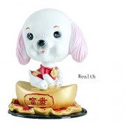 Shoguu Bobble Head Bobbing Heads Car Dash Puppy Shook His For Decorations, Toy, Kid'S (Wealth)