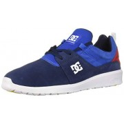 DC de los Hombres Heathrow SE Casual Skate Zapatos, Color Azul, Talla 6.5 D(M) US