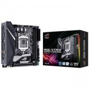 Дънна платка ASUS ROG STRIX H370-I GAMING Wi-Fi, Socket 1151 (300 Series), Aura Sync, mITX, Dual Lan, ASUS-MB-STRIX-H370I-GAMING