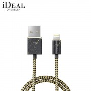 iDeal of Sweden - (MFi) Lightning USB Ladekabel Datenkabel 1m (IDFCL-49) - Port Laurent Marble Marmor