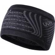 UYN Fusyon Ear Headband Black/Anthracite/Anthracite 2018 Löparmössor