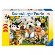 PUZZLE ANIMALE PRIETENOASE, 300 PIESE (RVSPC13160)