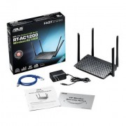 Asus Rt-Ac1200 Dual-Band (2.4 Ghz/5 Ghz) Fast Ethernet Nero Router Wireless