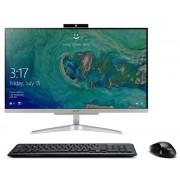 """AIO, Acer Aspire C24-865 /23.8""""/ Intel i3-8130U (3.4G)/ 8GB RAM/ 1000GB HDD/ Linux + подарък KBD&Mouse (DQ.BBTEX.011)"""