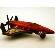 Hot Wheels - 2007 - Aerial Attack - Poison Arrow - #075/180 - 3 of 4 - Red - Limited Edition - Collectible