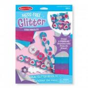 Melissa & Doug Kreatív játék, Glitter habszivacs karkötő készítő