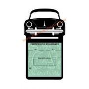 Etui porte assurance voiture Porsche 356 A