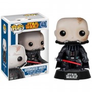 Pop! Vinyl Figura Pop! Vinyl Bobble Head Darth Vader (desenmascarado) - Star Wars