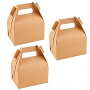 TOYMYTOY Paper Treat Boxes - Candy Gift Box for Birthday Wedding Baby Shower Party Supplies, Pack of 12