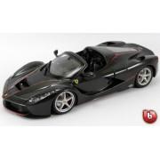 Bburago 1:43 Ferrari Signature LaFerrari Aperta Negru