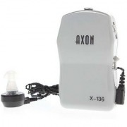 AXON X-136 Pocket High Power Wired Box Mini Hearing Aid Best Sound Amplifier Receiver Elderly Deafness Ear Care tool