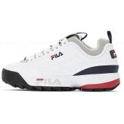 Fila Disruptor Color Block Low - sneakers - uomo - White/Black/Red