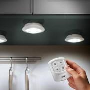 Cordless LED Lights, Set of 3